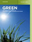 Cover Green - International Journal of Sustainable Energy Conversion and Storage