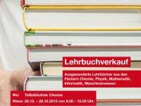 Postkarte Lehrbuchverkauf Garching 2015