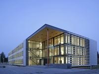 Gebäude auf dem TUM Campus für Biotechnologie und Nachhaltigkeit