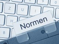 """Tastatur und Kartenreiter """"Normen"""""""