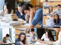 Bildcollage von Studierenden in Lehrveranstaltungen