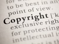 """Dictionary entry with the term """"Copyright"""""""
