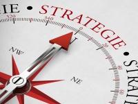 """Kompass mit Aufschrift """"Strategie"""""""