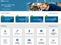 Screenshot IEEE eLearning Library