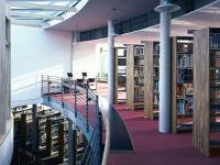 Innenansicht Teilbibliothek Weihenstephan
