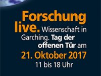 Banner Open House Day Garching 2017