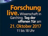 Banner zum Tag der offenen Tür 2017 in Garching