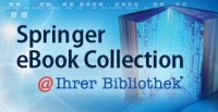 Banner for Springer eBook Collection