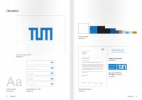 Screenshot of Corporate Design Manual
