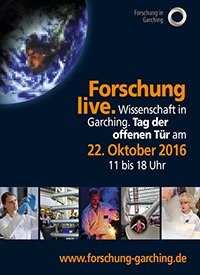 Poster open house day Garching 2016