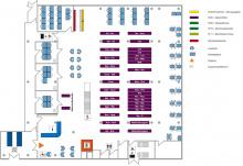 Lageplan Teilbibliothek Mathematik/Informatik Erdgeschoss